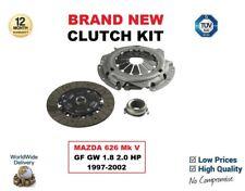 FOR MAZDA 626 Mk V GF GW 1.8 2.0 HP 1997-2002 BRAND NEW 3 PIECE CLUTCH KIT