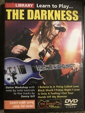 lick library Dvd Learn To Play The darkness