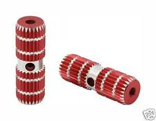 """Bicycle Alloy Pegs 691 24/26t W=1"""" l=3"""" Red BMX Kids Bikes 151378"""