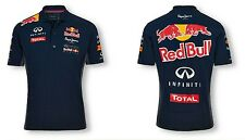 MENS RED BULL (INFINTI)  PEPE OFFICIAL TEAMLINE RACING POLO SHIRT  NAVY S-XXL