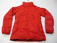 COLUMBIA Jacket Women's Size S Ski Snow 550 Fill Down Full Zip Red Puffer