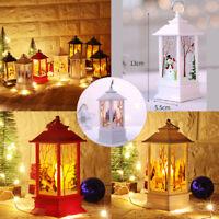 LED Lantern Lamp Christmas Decorations Vintage Home Candle Light