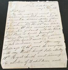More details for vintage heartfelt letter 1848 - 58th regiment ireland new zealand wars interest