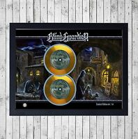 BLIND GUARDIAN LIVE CUADRO CON GOLD O PLATINUM CD EDICION LIMITADA. FRAMED