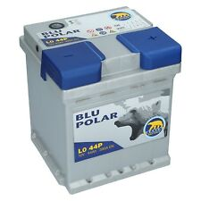 Autobatterie Bären 12V 44Ah 390A/EN Blu Polar Starterbatterie Wartungsfrei