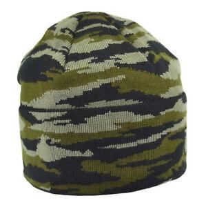 "Russian Army Military Beanie Hat ""CHECHENKA"" Digital Stripes with Fleece"