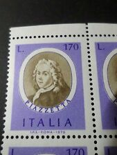 ITALIE ITALIA , 1976, timbre 1285, PIAZZETTA, CELEBRITY, neuf**, MNH STAMP