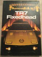 Triumph TR7 Car Sales Brochure - 1981