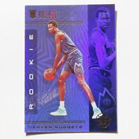 Bol Bol Panini Illusions Rookie RC 2019-2020 #164 Denver Nuggets Basketball Card