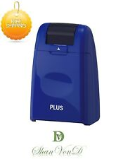 ID Protection Roller Privacy Stamp Self-Inking Blue Identity Theft Guard Gift UK