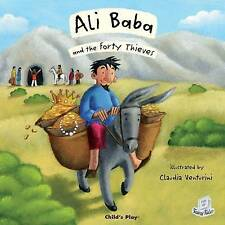 """AS NEW"" Ali Baba and the Forty Thieves (Flip-Up Fairy Tales), , Book"