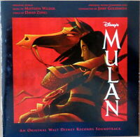 Disney's Mulan - an original Walt Disney Records Soundtrack - CD