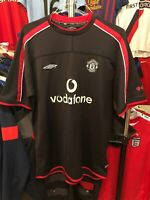 Men's Manchester United home football shirt size XL Umbro