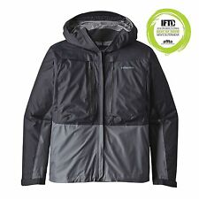 Patagonia FLY FISHING Minimalist wading jacket 2017-Forge Grey-M/Medium
