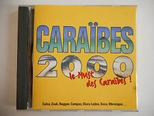 BEST OF CARAÏBES 2000 : SALSA, ZOUK, MERENGUE, REGGAE... | CD Album RTL Port 0€