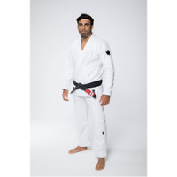Kingz The One Kimono White BJJ Gi Brazilian Jiu-Jitsu Gi Uniform Grappling