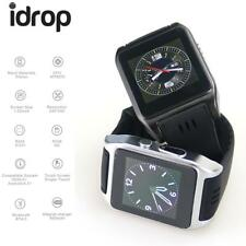 """idrop X86 Smart Watch 1.54"""" MTK6572 Dual Core Android 4.4 3G WiFi Black Color"""