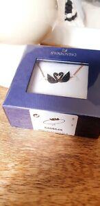 Swarovski Armband Iconic Swan Schwan schwarz Roségold vergoldet neu Armkette