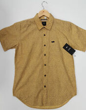 Cotton Blend Button-Front RVCA Casual Shirts for Men