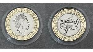 Royal Mint 2016 £2 Two Pound Brilliant Uncirculated Coin - Shakespeare Histories