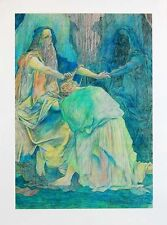 """GUILLAUME AZOULAY """"Blessings"""" HAND SIGNED Limited Deluxe Edition Canvas + COA"""