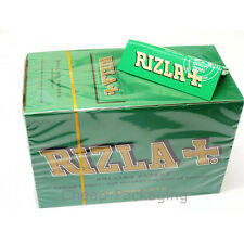 Rizla Green Medium Thin Rolling Paper Cigarette Papers 100 Booklets Box