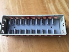 Passenger Seating Car Interior For MDC Roundhouse HO Scale Overton Coach Gray
