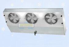Thin Profile ETL Reach-In Cooler Evaporator 3 Fans Blower 2,300 BTU 340CFM 115V