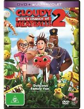 Cloudy With a Chance of Meatballs 2 (UV) - Cody Cameron NEW R4 DVD