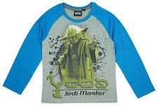 T-shirts, débardeurs et chemises bleu à manches longues pour garçon de 10 ans