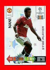 CHAMPIONS LEAGUE 2010-11 Panini 2011 -Card Star Player- NANI - MAN UTD