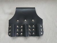Heavy Duty Black Leather Triple Spanner Frog 4 Professional Scaffold Tools Belt