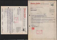 ESSEN, Brief 1941/42, Hermann Schulteis Büro-Einrichtungen