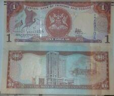 Trinidad & Tobago $1 Dollar Banknote UNC New Signature 2017
