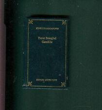 Künstler-Miniaturen Pieter Breughel Gemälde Edition Popp 1978 Minibuch Mini-Buch