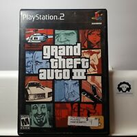 Grand Theft Auto III, GTA 3 (Playstation 2 PS2 ) TESTED