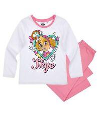 Disney Paw Patrol Mädchen Schlafanzug Pyjama 104  110 116 128 NEU LIZENZ