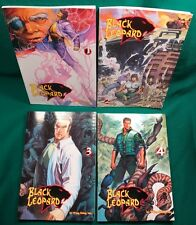 MINT VOL 1-4 MENGA COMICS BLACK LEOPARD BY WING SHING MA COLOR GRAPHIC NOVEL NOS