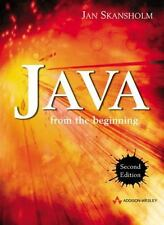 Java from the Beginning (2nd Edition) (International Computer Science Series)
