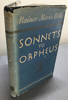 Sonnets To Orpheus - Rainer Maria Rilke - 1942 - Norton (English/German Accept)