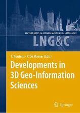 Developments in 3D Geo-Information Sciences (2009, Hardcover)