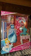 NEW Disney Princess Cinderella Stamp N Design Studio Set Doll Playset Hasbro
