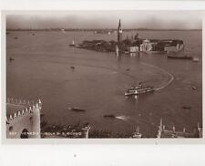 Venezia Isola Di S Giorgio Italy [Brocca 427] Vintage RP Postcard 243b