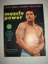 MUSCLE POWER MAGAZINE - Jul 1955 - MILLER McWILLIAMS HERCULES GAY INTEREST