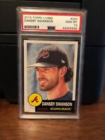 2019 Topps Living Set Dansby Swanson Baseball Card #220 PSA 10 Gem Mint