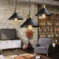 Retro Industrial Vintage Iron Ceiling Light Chandelier Rustic Metal Hanging Lamp