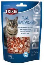 Trixie Tuna Sandwiches Cat Treats With Tuna & Chicken 50g x 2