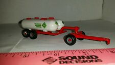 1/64 ertl custom farm toy dual anhydrous tanks bottles on red gear free ship!