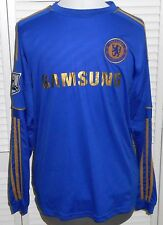 CHELSEA FOOTBALL SHIRT JERSEY HOME ADIDAS TORRES MENS MEDIUM BLUE Signed