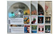 8 x DVDs Film Ex Rental Movie Films Package Collection in Good Condition (G9)